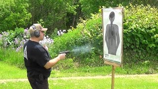 Self Defense Shooting Drill: Retention to Move and Shoot