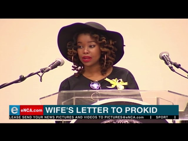 Wife's letter to Prokid