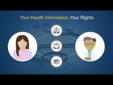 Video 2  - Your Health Information, Your Rights