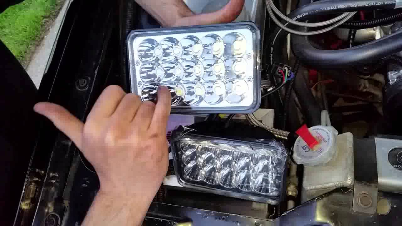 Oracle LED Headlight Installation  How To Wire  YouTube