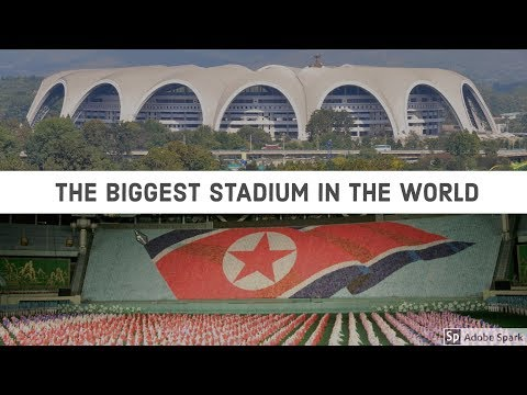 Rungnado May Day Stadium - Pyongyang, North Korea (The Biggest Stadium in the World)
