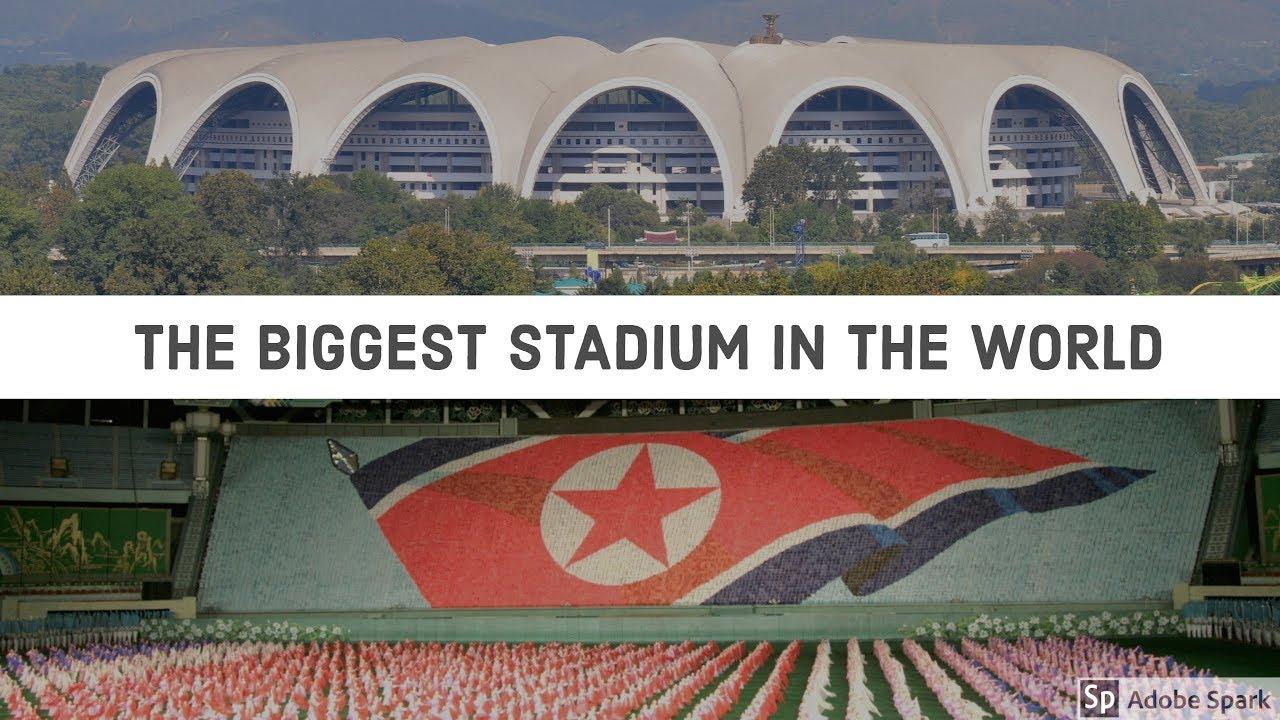 Rungnado May Day Stadium - Pyongyang, North Korea (The ...