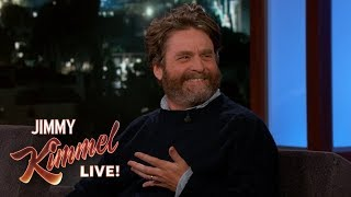 Zach Galifianakis on Body Doubles & Baskets