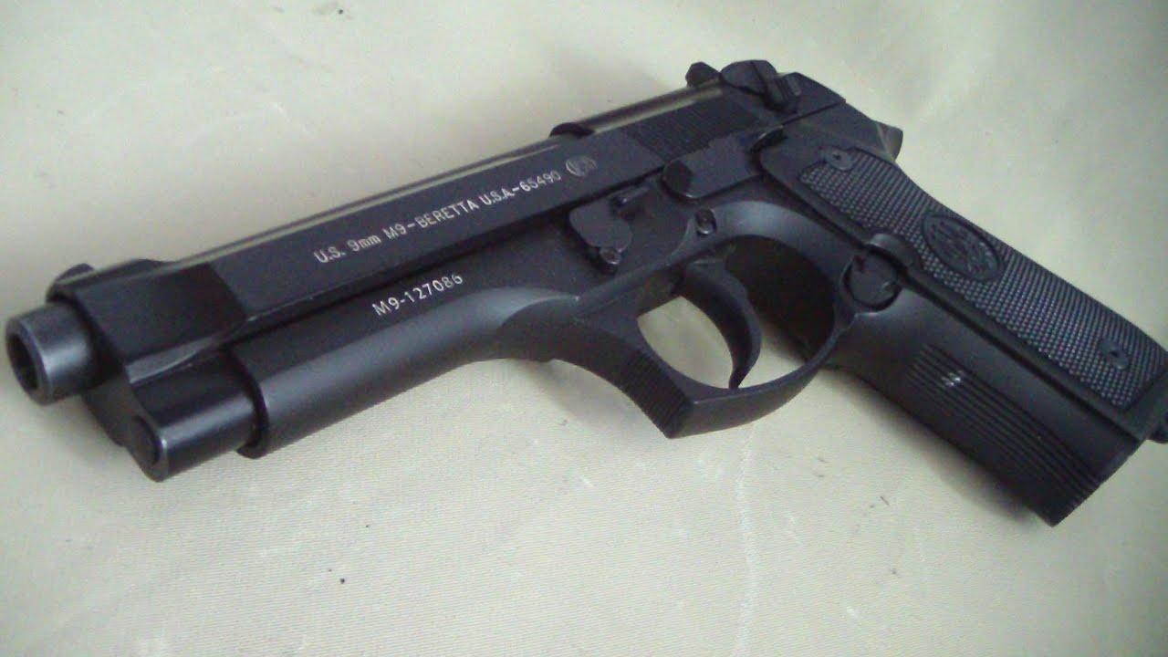 Beretta 92 FS (M9) review BATJAC J W