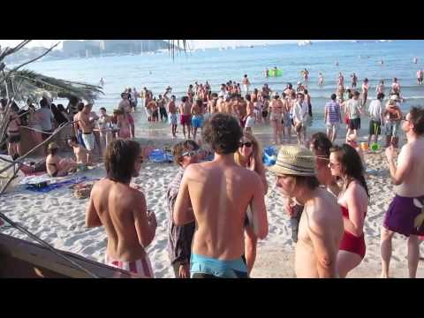 Tigersushi 'We Are X' Beach party at Calvi On The Rocks