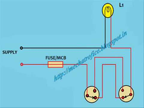 staircase wiring circuit diagram ppt staircase wiring connection diagram