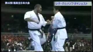 2010 42nd All Japan Open Weight tournament. Tokyo. Very bad recordi...