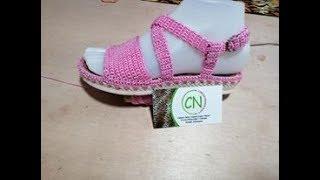 Sandalias niña rosa