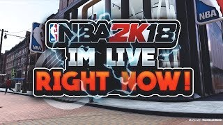 NBA2K18 LIVE STEAM / Giftcard Giveaway / 78 win % / MyPark / 400 sub grind