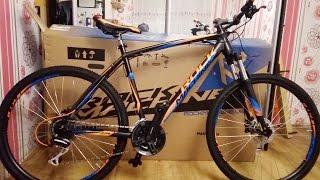 Розпакування велосипеда Rock Machine Manhattan 90-27