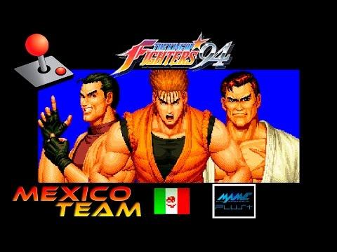 KOF 94 Arcade - México team