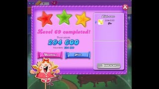 Candy Crush Saga  [Dreamworld] Level 69  ★★★