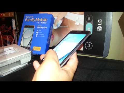 Detalles o Informacion unboxing Samsung Galaxy On5 de T-Mobile/Family Mobile