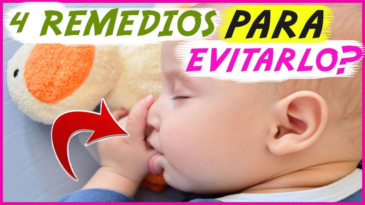 4 Remedios para que el #bebé no se chupe el dedo