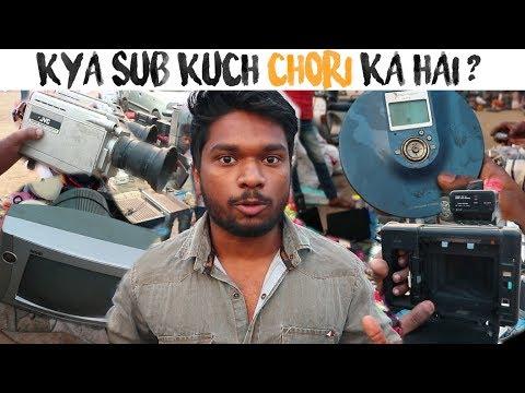 Chor Bazaar Delhi | The Secret MARKET OF  Meena bazaar | | Reality Exposed| DSLR, iPhones, Laptops,