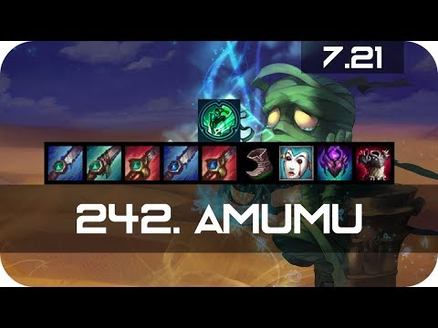 Amumu Jungle vs Kayn Season 7 s7 Patch 7.21 2017 Gameplay Guide Build Normals
