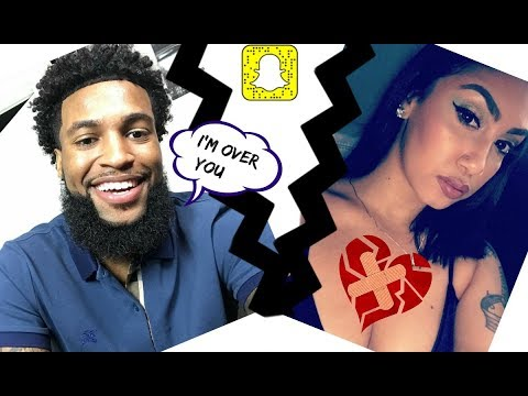 CHRIS AND QUEEN go at it on SNAPCHAT!