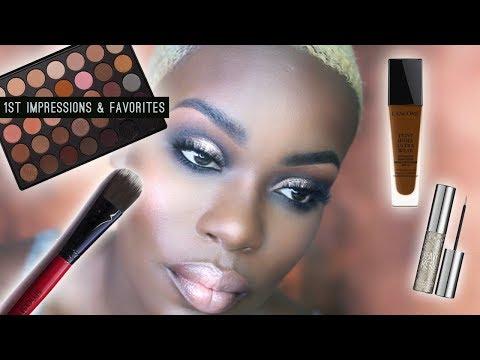 Smoky Glitter EYE MAKEUP using Morphe 35w + 1st impressions