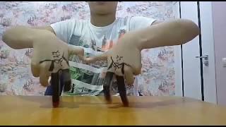 Танец лезгинка с пальцами