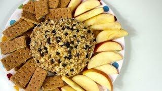 Healthy Chocolate Chip Cheeseball Recipe