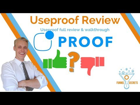Useproof Review - Social Proof Marketing