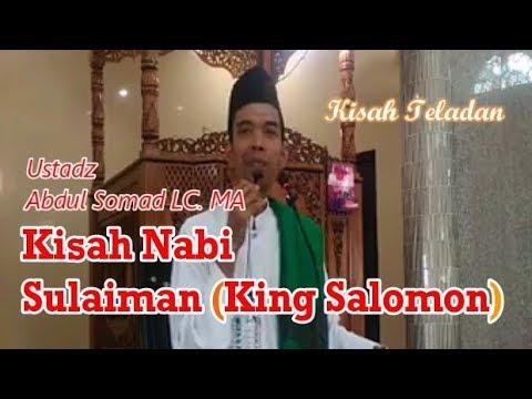 Kisah Teladan Nabi Sulaiman -  Ustadz Abdul Somad LC. MA