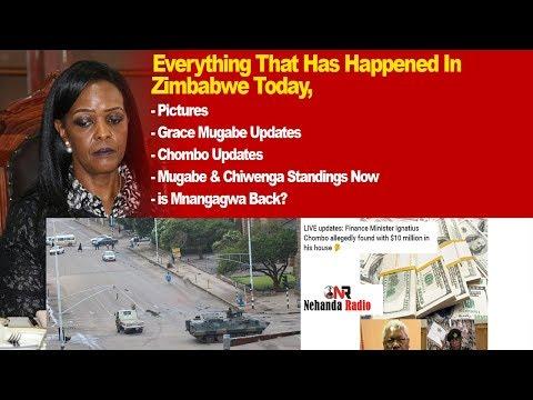 Download Youtube: Everything That Has Happened in Zimbabwe Today, Grace Mugabe Updates, Chombo, Chiwenga, Mnangagwa