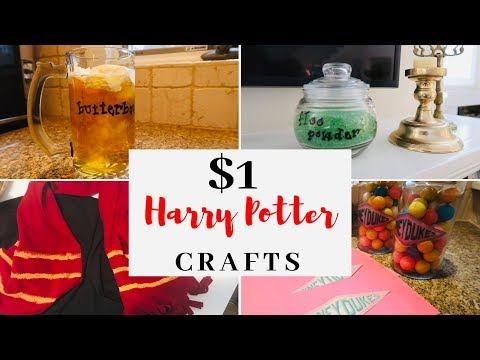 20 HARRY POTTER DIY IDEAS   $1 Harry Potter Party Ideas 2019 FREE PRINTABLES