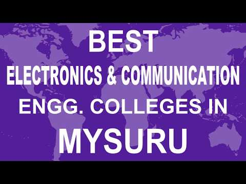 Best Electronics And Communication Engineering Colleges In Mysuru