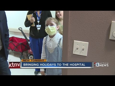 Local service members deliver toys to kids in hospital