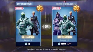 THE NEW BATTLE PASE OF THE SEASON 10 FREE in Fortnite! (Battle Season Pass 10 FREE)