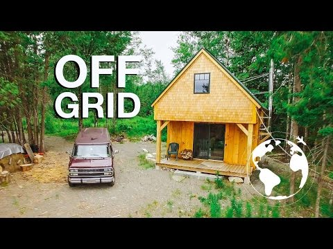 Tiny Cabin Perfect for Living Off the Land