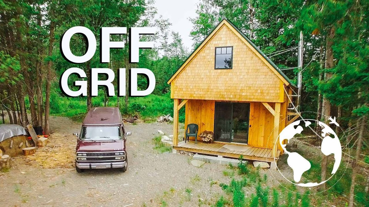 Tiny cabin perfect for living off the land youtube for Perfect cabin
