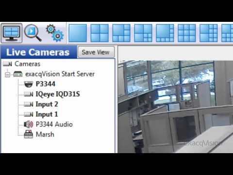 exacqVision Start VMS Overview