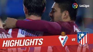 Resumen de SD Eibar vs Atlético de Madrid (0-2)