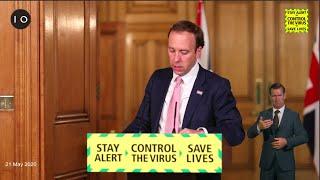 Coronavirus press conference (8 June 2020)