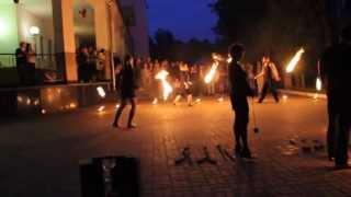 Фаершоу в Витебске , AGNI show (огненное шоу на свадьбу)