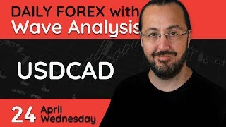 USDCAD - 24 April 2019 - Forex Trade Setups Everyday