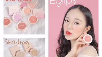 Eglips Cheek Fit Blusher & Slim Fit Shading 🎁 Swatch And Review 😍 Khanh Kami