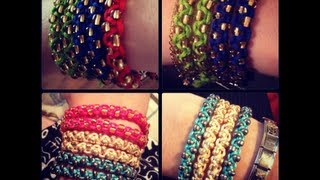Repeat youtube video Como hacer PULSERAS Facil!!!