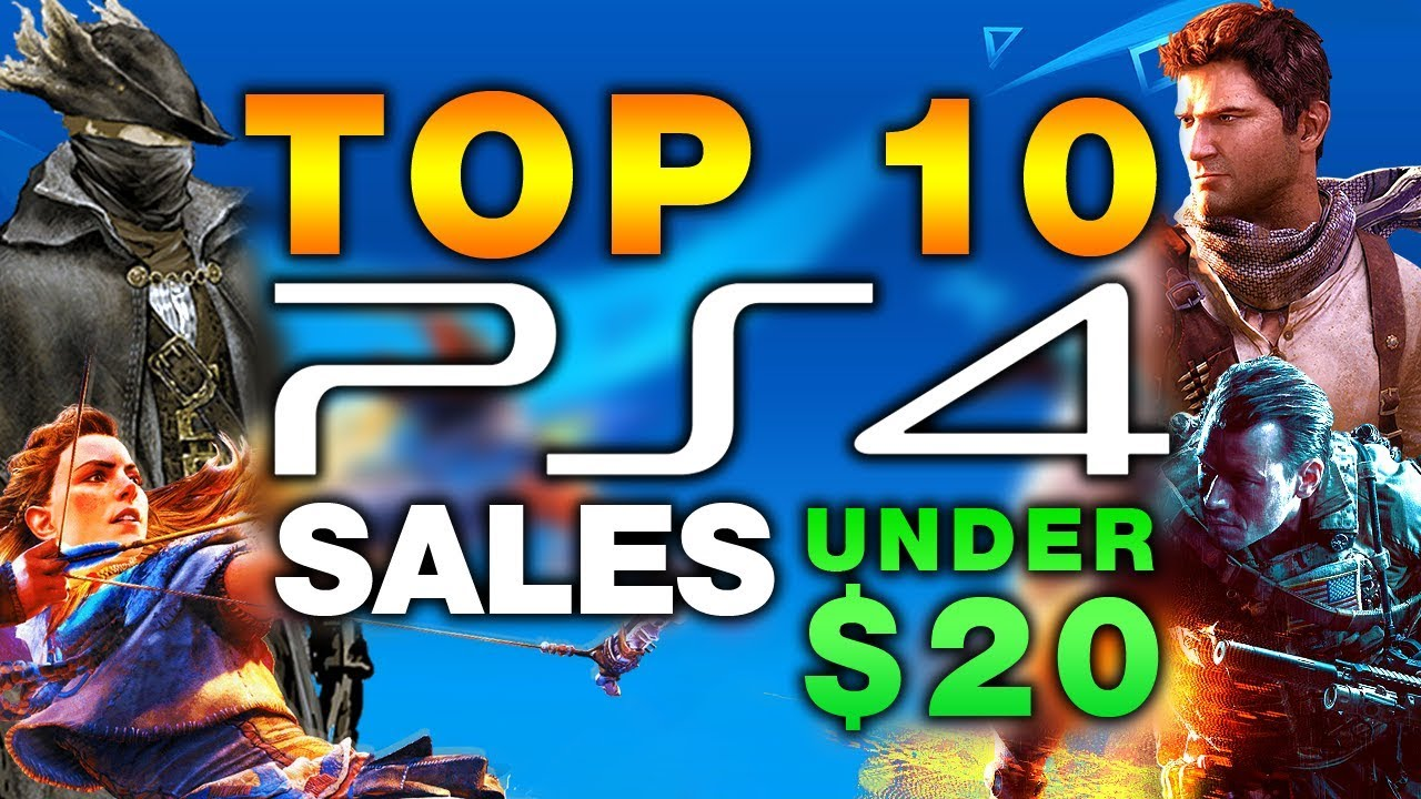 Top 10 Must Have Ps4 Games Under 20 On Sale For Black