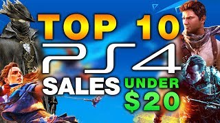 Top 10 MUST HAVE PS4 Games Under $20 On Sale For Black Friday 2017!