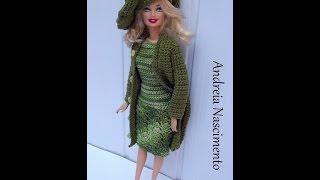 Ensinando a Fazer casaco model elgancy para barbie – Andreia Nascimento