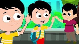 Chào bạn bài hát   bài hát cho trẻ em   vần điệu trẻ   Hello Song   Greeting Peoples Song In Veitnam
