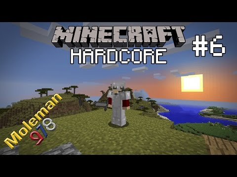Let's Play Hardcore Minecraft #6 | Fundamental Stairs