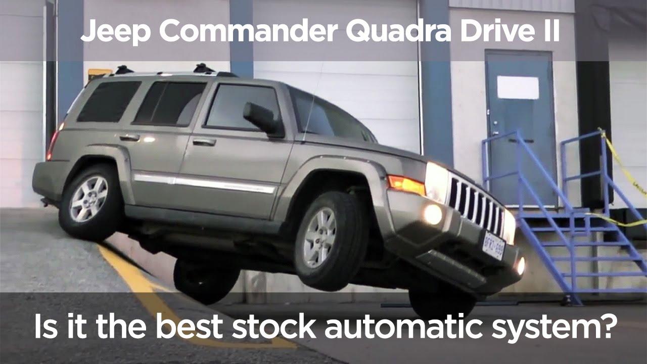 jeep commander quadra drive ii offroad test stock. Black Bedroom Furniture Sets. Home Design Ideas