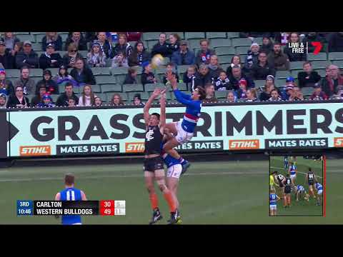 Round 17 AFL - Carlton v Western Bulldogs Highlights