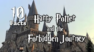10 Magical Facts about Harry Potter and the Forbidden Journey - ParkFacts