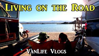 Living on the Road - #VanLife Vlogs 03-2019