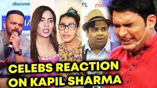 Celebs Reaction On Kapil Sharma's Abusive Behaviour And Depression
